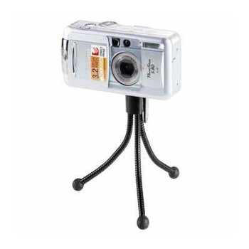 Hama Products This ultra portable mini tripod from Hama will allow you to get snap happy on the go.  [4024]