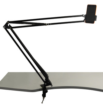 Telescopic Mobile/Tablet Stand With G Clamp Mount