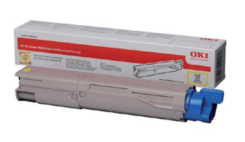 OKI Toner Cartridge Yellow (Yield 7,300 Pages) for MC853/MC873 A3 Colour Multi-Function Printers