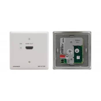 Active Wall Plate - HDMI over Twisted Pair Receiver