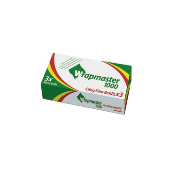Wrapmaster 1000 Cling Film 31C78 Pack of 3