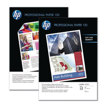 HP Professional Glossy Laser Photo Paper A4 150gsm Pk 150 CG965A