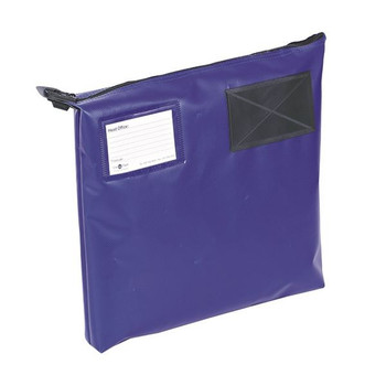 Go Secure Mail Pouch Blue 381x336x76mm GP1B