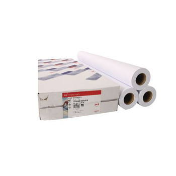 Canon Uncoated Draft Inkjet Paper Pack of 3 Rolls 841mmx50m 97003455