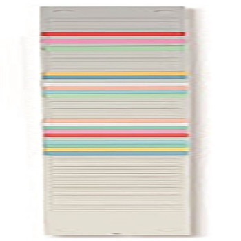 Nobo T-Card Planning Panel with 32 Slot Capacity Metal Size 3 32938883