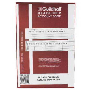 Guildhall Headliner Book 80 Pages 298x203mm 38/16 1152