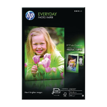 HP Everyday Glossy Photo Paper 100x150mm Pk 100 CR757A