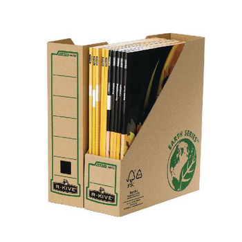 Fellowes Earth Series Magazine File Brown 4470001