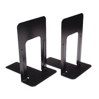 Large Deluxe Bookends Black One Pair BLO06914 Pack of 2