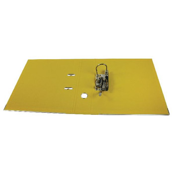 Esselte Lever Arch File Polypropylene A4 75mm Yellow 48061