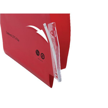 Rexel Lateral File Tabs Clear Pk 50 78365