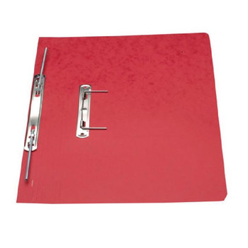 Europa Spiral File Red Foolscap 3008