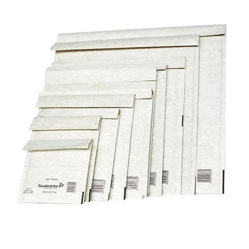 Mail Lite Bubble Lined Postal Bag Assorted Sizes White Pk50 103045662