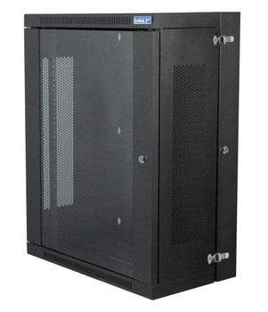 Eagle Wall Mounting Rack Cabinet With Hinged Back and Glass Locking Door [P729D]