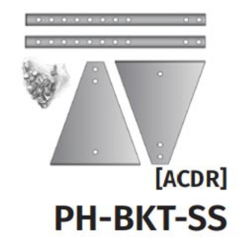 PH-BKT-SS (Wall or Ceiling Bracket for DSC Series)