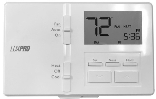 TH-P721 (Digital, Programmable Thermostat, Single or 2-Stage, 24VAC)