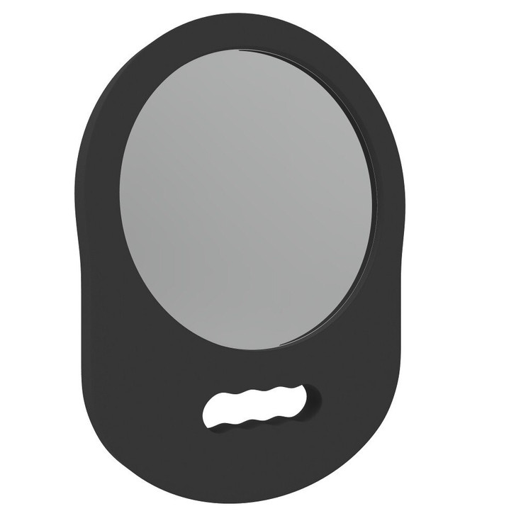 L3VEL3 foam mirror for barbers and stylists.