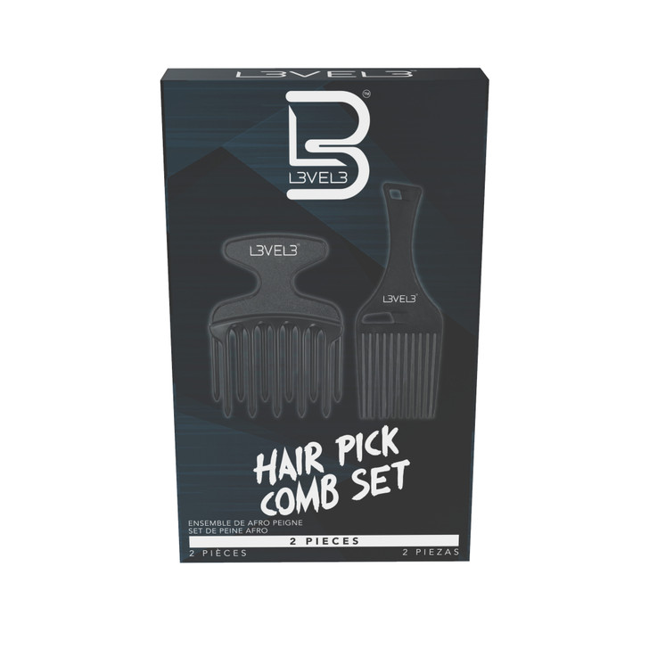 Hair pick comb set Box