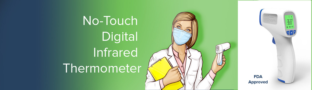 Overstocked and Under-priced No-Touch Digital Infrared Thermometer