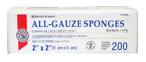 "Gauze Squares 2"" x 2"""