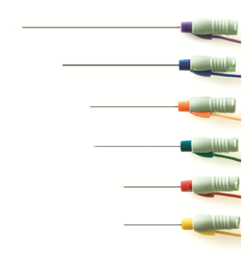 Injectable Needles w/ Attached Lead