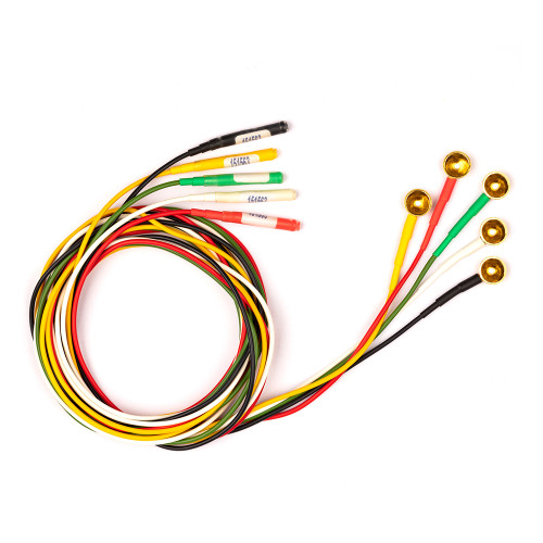 Gold Electrodes -Silicone Wire