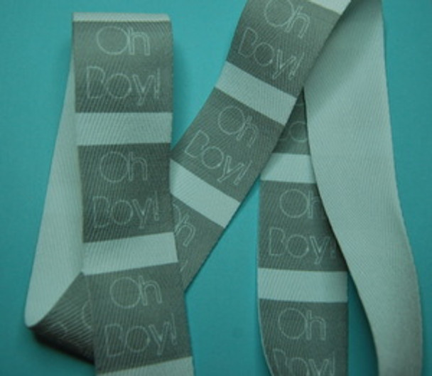 Custom Printed Twill Tape- Vertical