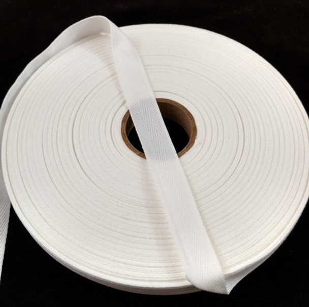 """Polyester Twill Tape 5/8"""", 72 yard roll"""