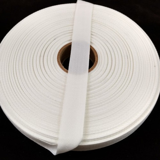 """Polyester Twill Tape 3/4"""", 72 yard roll"""