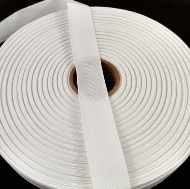 """Polyester Twill Tape 1"""", 72 yard roll"""