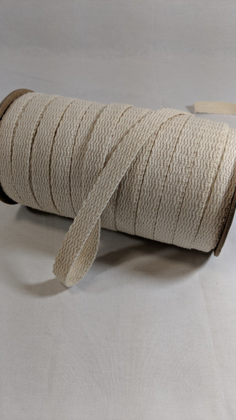 "Webbing 1/2"", 72 yard spool, natural"