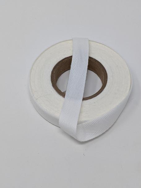 "Lightweight 1/2"" twill tape, 10 yard roll"