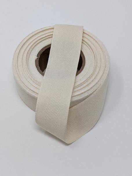 "Lightweight 1 "" natural tape, 10 yard roll"