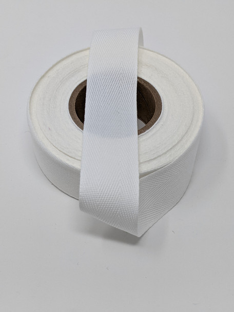 "Lightweight 1"" twill tape, 10 yard roll"