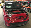 2012 Fiat 500 Abarth Hatchback Parts Car F5004