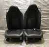2005-2008 Mercedes Benz SLK Edition10 Black Leather Power Seats w/ Red Stitching SK205
