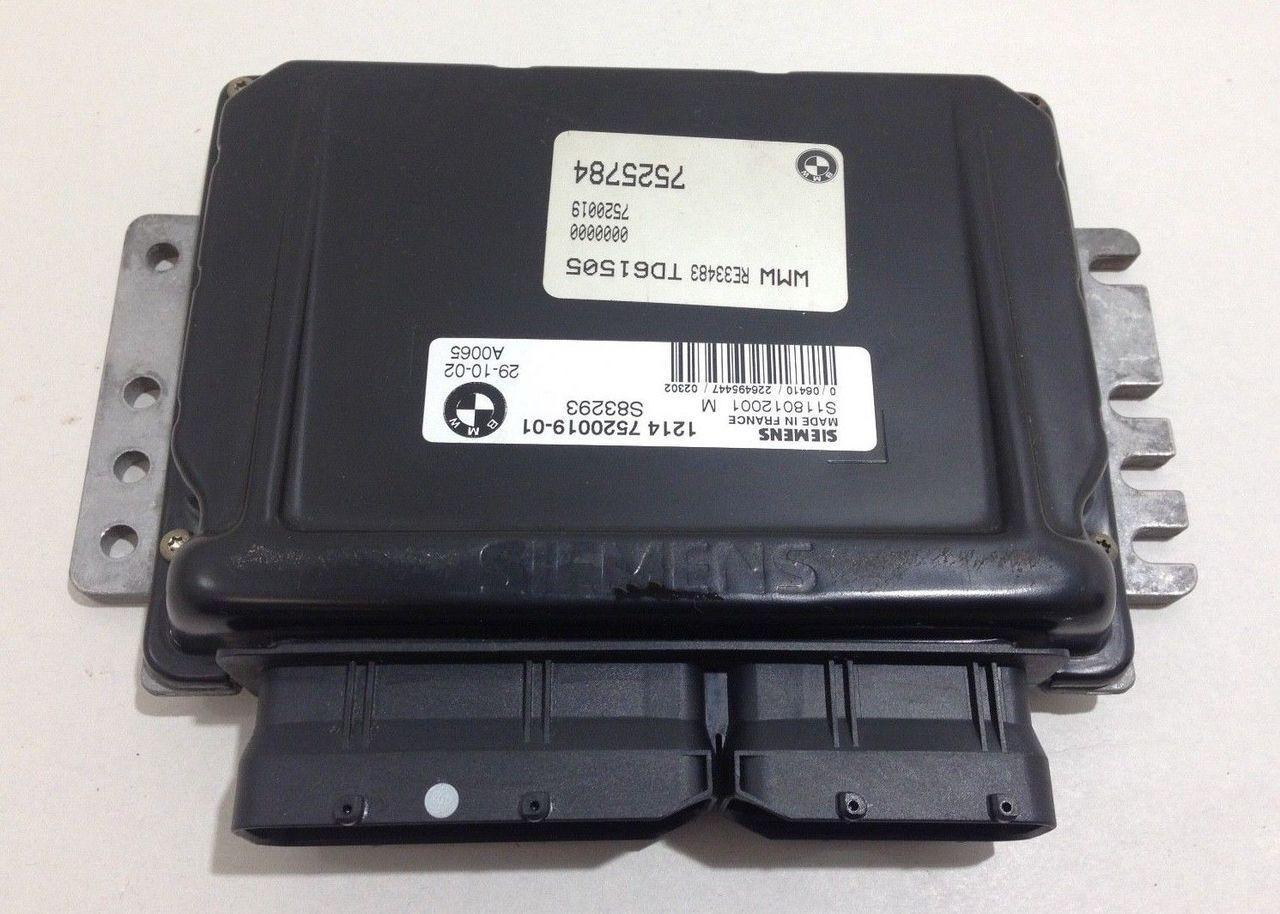 2004 Mini Cooper S R53 ECU / Manual 12-14-7-520-019 R1002