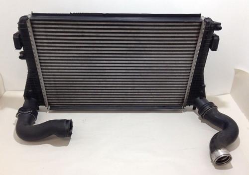 2008-2009 Audi TT Mk2 8J FWD 2.0l TFSI Factory OEM Intercooler w/ Hoses T2001