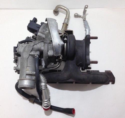 2008-2009 Audi TT Mk2 8J 2.0l TFSI OEM K03 Turbocharger w/ Manifold Lines T2001