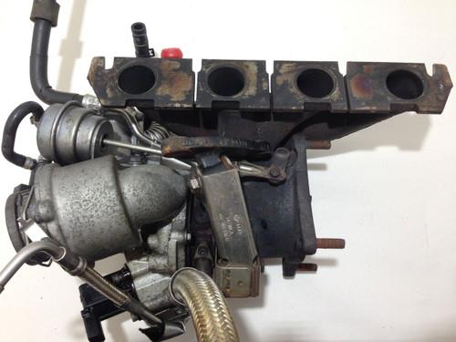 2008-2009 Audi TT Mk2 8J 2 0l TFSI OEM K03 Turbocharger w/ Manifold Lines  T2001