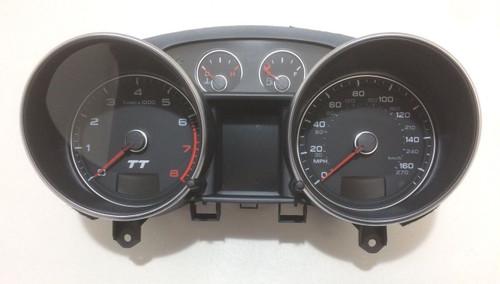 2009 Audi TT Instrument Cluster / 65k / Quattro 3.2l / DSG / Mk2 8J / T2003
