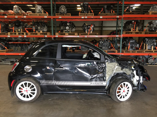 2013 Fiat 500 Abarth Parts Car F5001