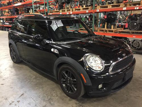 2007 2015 Mini Cooper Front Seats Black Leatherette Pair R55