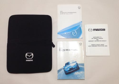 2004 Mazda Miata Owner's Manual w/ Case / Booklet / OEM / NB054