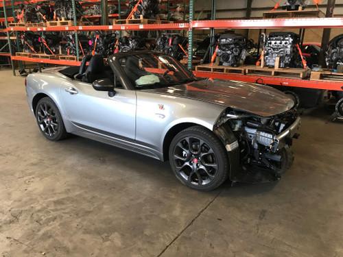 2017 Fiat 124 Spider Abarth Parts Car FD002
