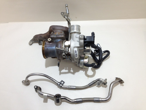 2017-2019 Fiat 124 Spider Turbocharger Assembly w/ Manifold Lines / 1k Miles / FD001
