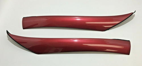 2005-2011 Mercedes Benz SLK R171 A-Pillar Trim Panels / Amber Red / OEM / SK203