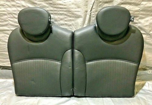 2007-2013 Mini Cooper R56 Hatchback Rear Upper Seats / Punched Black / R2008