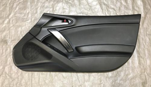 2017-2019 Fiat 124 Spider Passenger Side Interior Door Panel / OEM / Black / FD005