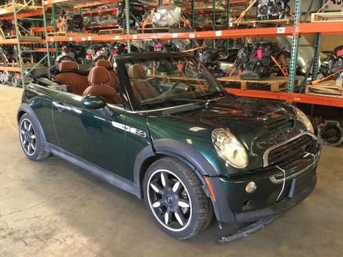 2007 Mini Cooper S R52 Convertible Sidewalk Edition New Parts Car R1009 (Apr 2020)